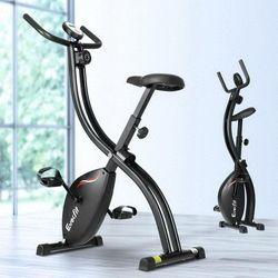 Everfit Exercise Bike X-Bike Folding Magnetic Bicycle Cycling Flywheel Fitness Machine