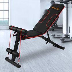 Fitness Exercise Bench FID Adjustable Bench Home Gym Steel Frame