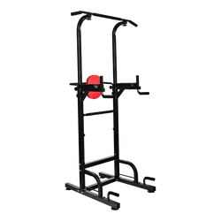 FitnessPro Multi Power Tower Chin Up Bar Push Pull Up Knee Raise Gym Station Weight
