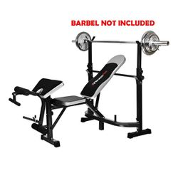 FitnessPro Multi Station Weight Exercise Bench Press Fitness Weights Equipment