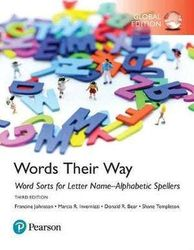 Words Their Way - Word Sorts for Letter Name-Alphabetic Spellers, Global Edition