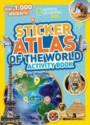 World Atlas Sticker Activity Book - Over 1,000 Stickers!