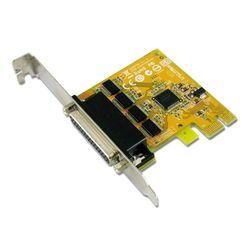 Sunix SER6456AL PCIE 4-Port Serial RS-232 Card Low Profile