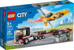 LEGO 60289 Airshow Jet Transporter - City