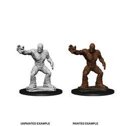 D&D Unpainted Nolzur's Marvelous Miniatures Clay Golem