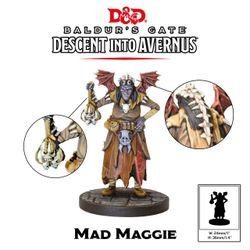 D&D Collector's Series Descent Into Avernus Mad Maggie