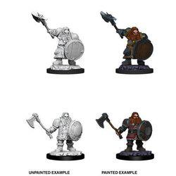 D&D Unpainted Nolzur's Marvelous Miniatures Dwarf Male Fighter 2020