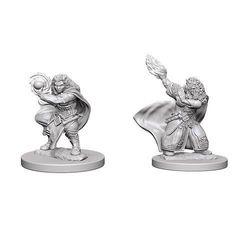 D&D Unpainted Nolzur's Marvelous Miniatures Female Dwarf Wizard