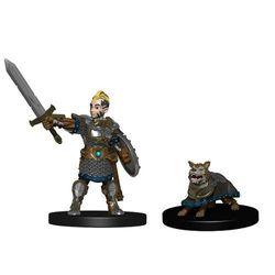 Wardlings Boy Fighter with Battle Dog Pre-Painted