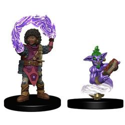 Wardlings Girl Wizard with Genie Pre-Painted
