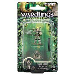 Wardlings Girl Druid & Stone Creature Pre-Painted Miniatures