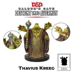 D&D Collector's Series Descent Into Avernus Thavius Kreeg