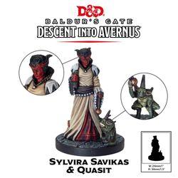 D&D Collector's Series Descent Into Avernus Sylvira Savikas & Quasit