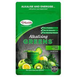 Morlife Alkalising Greens pH 7.3 100g Lemon Lime
