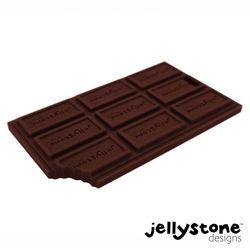 Jellystone Choc Bar Teether- Safe Silicone & Sensory Bpa Free