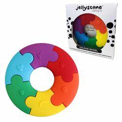 Jellystone Colour Wheel Rainbow Silicone Sensory Fun Safe Toy