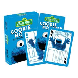 Sesame Street - Cookie Monster Playing Cards