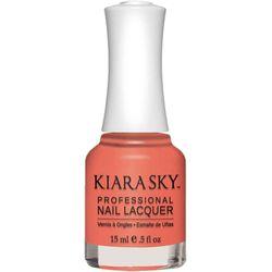 Kiara Sky Nail Lacquer - N490 Romantic Coral