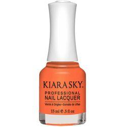 Kiara Sky Nail Lacquer - N542 Twizzly Tangerine