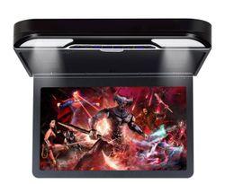 "Elinz 13.3"" IPS Roof Mount Car DVD Player Flip Down Monitor 1080P FHD HDMI Games USB BLACK"