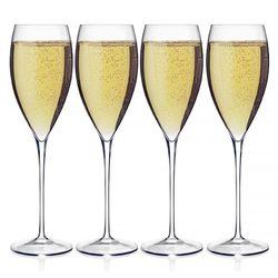 Luigi Bormioli Magnifico Champagne Flutes Set of 4