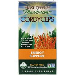 Fungi Perfecti Cordyceps Energy Support 120 Vegetarian Capsules