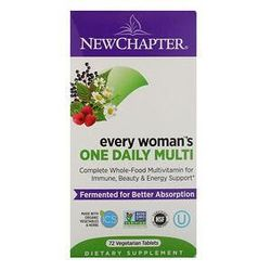 New Chapter, Every Woman's One Daily Multi, 72 Vegetarian Tablets
