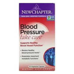 New Chapter, Blood Pressure, Take Care, 30 Vegetarian Capsules