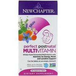 New Chapter, Perfect Postnatal Multivitamin, 192 Vegetarian Tablets