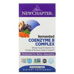 New Chapter, Fermented Coenzyme B Complex, 90 Vegetarian Tablets