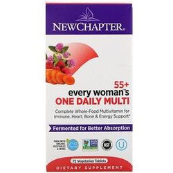 New Chapter, 55+ Every Woman's One Daily Multi, 72 Vegetarian Tablets