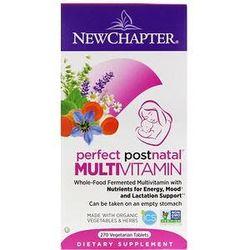 New Chapter, Perfect Postnatal Multivitamin, 270 Vegetarian Tablets