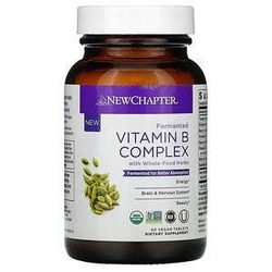 New Chapter, Fermented Vitamin B Complex, 60 Vegan Tablets