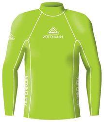 Adrenalin Junior Rash Vest Lycra Long Sleeve High Visibility 4 Lime