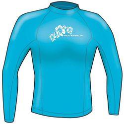 Adrenalin Ladies Rash Vest Lycra Long Sleeve 18 Aqua