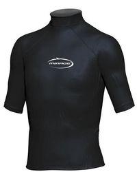 Mirage Junior Lycra Rash Short Sleeve Shirt 6 Black