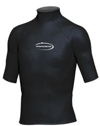 Mirage Junior Lycra Rash Short Sleeve Shirt 10 Black