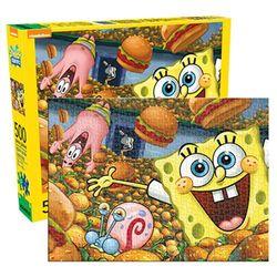 Aquarius SpongeBob SquarePants 500 Piece Jigsaw Puzzle