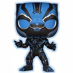 Marvel's Black Panther with Blue Glow Funko POP! Vinyl