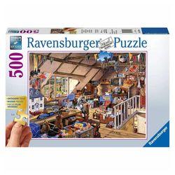 Ravensburger Grandma's Attic 500 Piece Jigsaw Puzzle