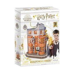 CubicFun Hogwarts Weasley's Wizarding Wheezes 62 Piece 3D Jigsaw Puzzle