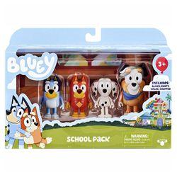 Bluey & Friends School Pack Figure Set