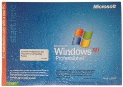 Windows XP Professional Edition, with Service Pack 3, English, 1 pack DSP OEI C