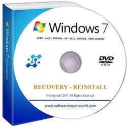 WINDOWS 7 HOME PREMIUM BASIC 32 & 64 BIT RE-INSTALL & RECOVERY DISC