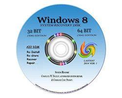"NEW TOTAL COMPLETE Re INSTALL Repair Restore WINDOWS 8 ""ENTERPRISE"" Edition 32/64 bit"