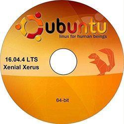 Ubuntu Linux 16.10 64 Bit Operating System Install Live Bootable DVD