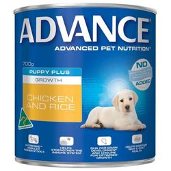 Advance Puppy Plus Growth Chicken & Rice 12x700g