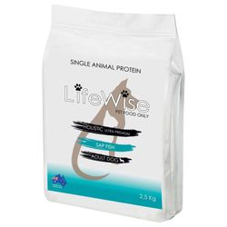 Lifewise Adult Single Animal Protein Fish Dog Food 2.5kg