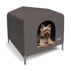 Kazoo Cabana Dog House Medium Cappuccino