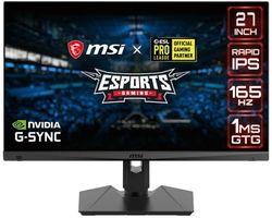 (FREE SHIPPING) MSI Optix MAG274QRF 27-inch IPS 165Hz Gaming Monitor